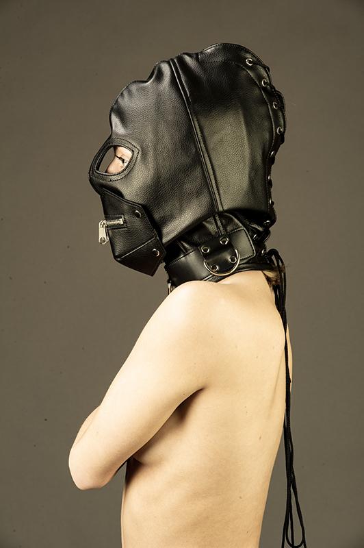 Vegan/PU-läder-masker
