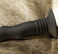 Kort, Strapon-kompatibel Vibrator, Svart