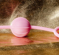 Kegel Balls Ribbed