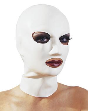 Vit latexmask