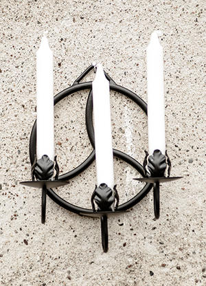 Tre-armad lampett Triskele