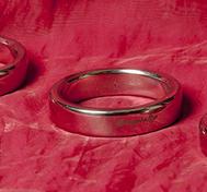 Konisk Penisring, Rostfritt stål, 45-55 mm
