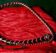 Snake Whip Red / Black